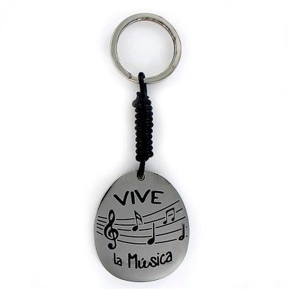 """Llavero Happy """"Vive la música"""""""