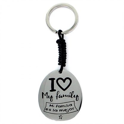 "Llavero Happy ""I love my family"""