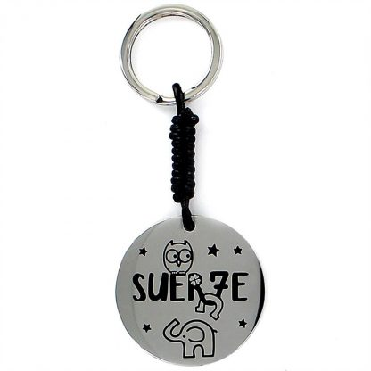 """Llavero Happy """"Suerte"""""""