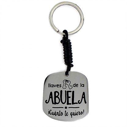 """Llavero Happy """"Abuela"""""""