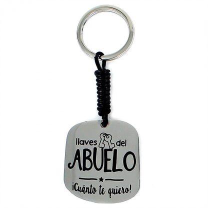 """Llavero Happy """"Abuelo"""""""